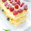 Berries And Peach Pudding Tart