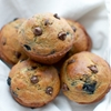 Chocolate Chip Banana Blueberry Muffins