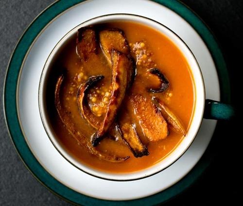 Butternut Squash, Tomato and Cumin Soup