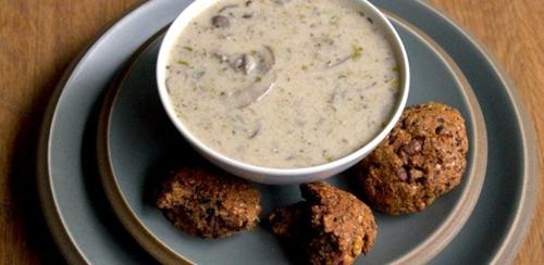 Mushroom & Crème Fraîche Soup