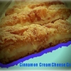 Cinnamon Cream Cheese Crescent Rolls