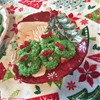 No-Bake Wreath Christmas Cookies