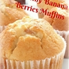 Banana Berries Muffins Healthy