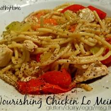 Nourishing Chicken Lo Mein (gluten/dairy/egg/msg free)