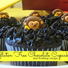 Gluten Free Chocolate Cupcakes and Frosting
