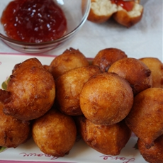 West African Spicy Drop Donuts