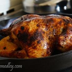 Peruvian Style Roasted Chicken