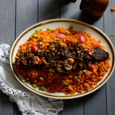 Jollof Couscous in 20 Minutes!