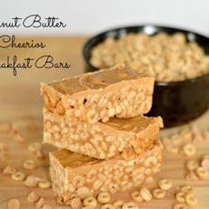 Peanut Butter Cheerios Breakfast Bars