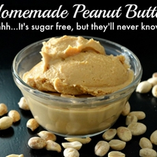 3-Ingredient Peanut Butter