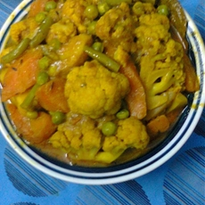 Vegetable Korma Recipe