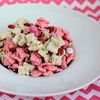 Strawberry Valentines Chex Mix