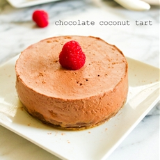 Paleo Chocolate Coconut Tart + Valentines Day Desserts