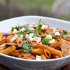 Spicy Penne Rigate with Sausage and Peppers