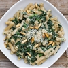 Spinach and ricotta pasta