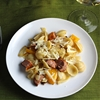 Orecchiette and Grilled Sausage with a Verdicchio