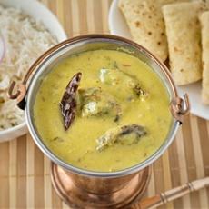 Healthy Punjabi Kadhi with non