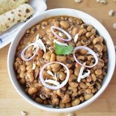 Punjabi lobia masala