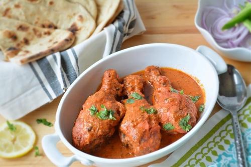 Butter Chicken or Makhani Chicken