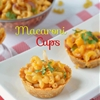 Macaroni Salad and Macaroni cups