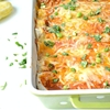 Chicken and Bean Enchiladas