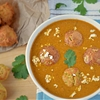 Kofta Curry prepared with non fried Koftas