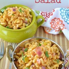 Macaroni Salad and Macaroni cups