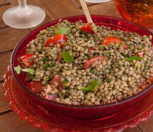 Faki Salata (Lentil Salad)
