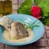 Garlic dip (aliada) from Cephalonia with fried cod