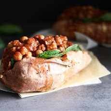 Berbere Chickpeas & Sweet Potato