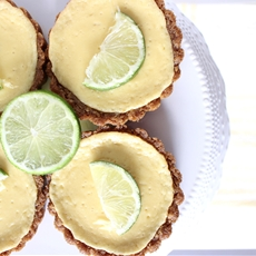 Mini Kaffir Lime Tarts