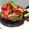 Quinoa & Portobello Memphis Dry Rub Burgers