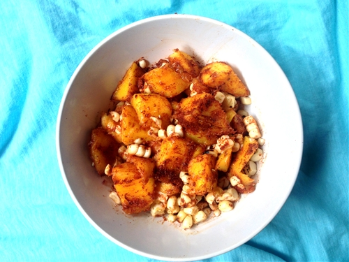 Mango Corn Salsa With Paprika & Ginger