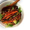 Sumac Carrot Salad with Almonds and Olives
