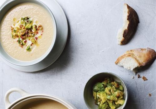 Cauliflower Caraway Potato Soup
