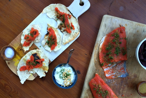 Gravlax With Caraway, Coriander, and Mustard