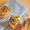 Vegetable Spiral Mini Tarts