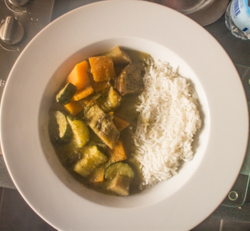 Vegetable Thai Green Curry