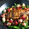 Strawberry Caprese Chicken Salad