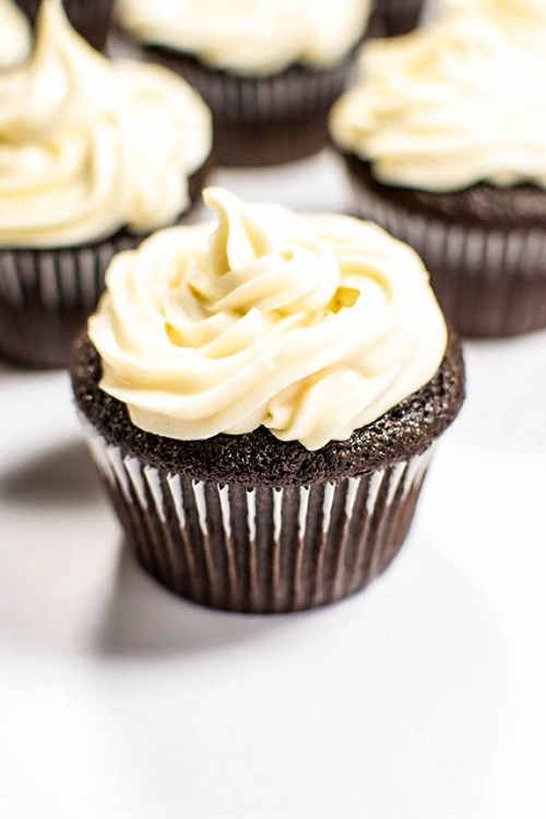 Chocolate Guinness Cupcakes with Baileys Frosting