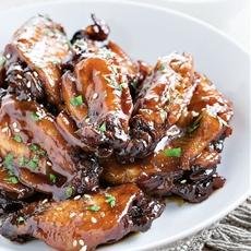 Crock Pot Sticky Chicken Wings