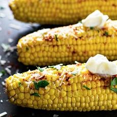 Baked Smoky Parmesan Corn