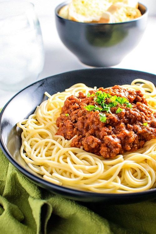 Homestyle Meat Sauce