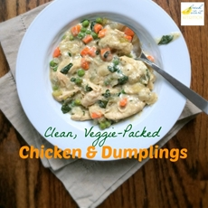 Veggie-Packed Chicken and Dumplings