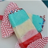 Patriotic Pudding Popsicles
