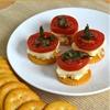 Chicken Caprese Crackers: An Easy Appetizer Idea