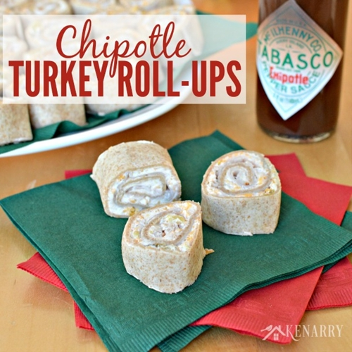 Chipotle Turkey Roll-ups