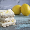 Coconut Lemon Squares (GF, DF, V, SF) A Dash of Megnut