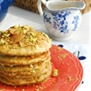 Honey Pistachio Pancakes