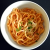 Roasted Red Pepper Fettuccine Alfredo